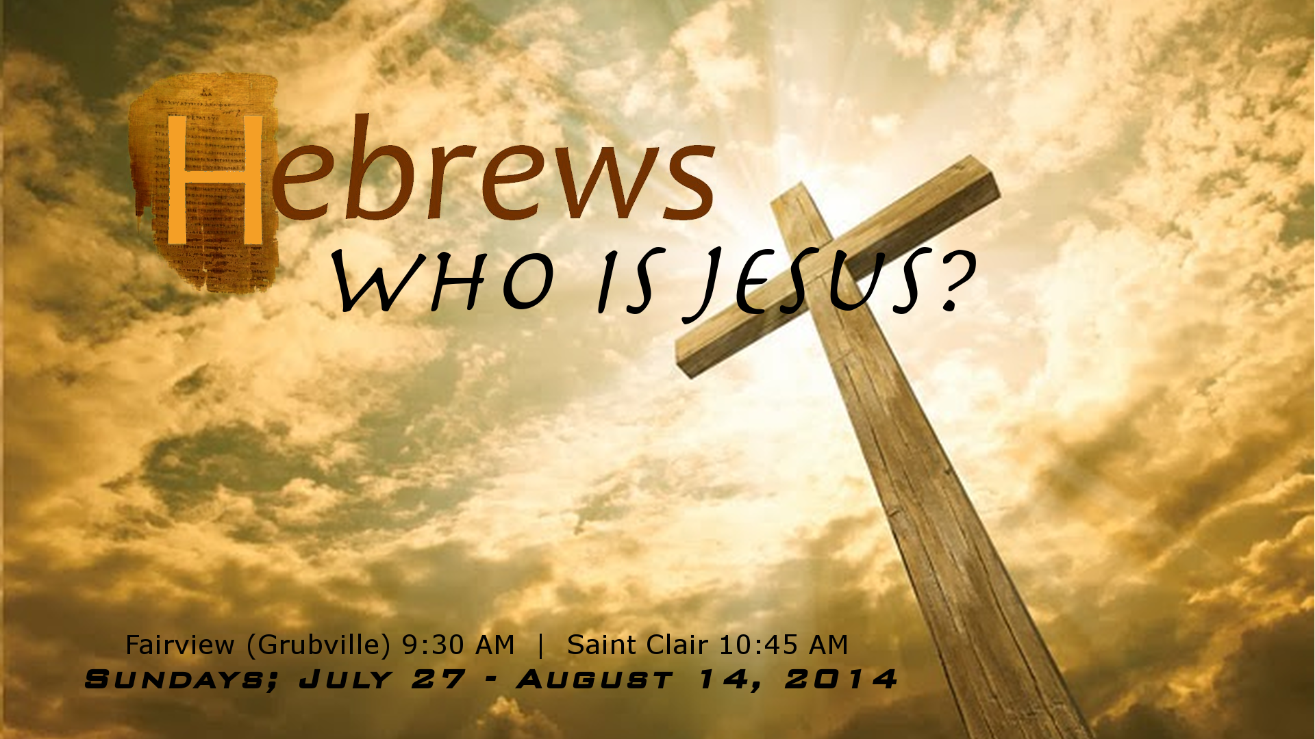 Jesus: The Perfect Example